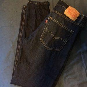 522 Levi's Blue Jeans 32x32
